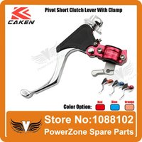 adjustable clamping lever - Billet CNC Pivot Short Clutch Lever With Clamps Racing Moto Motorcycle Parts Clutch Lever Adjustable Clutch Lever order lt no