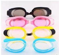 Wholesale 3 Sets Swimming Swim Goggles Glasses For Water Swimming Goggles mix Colors