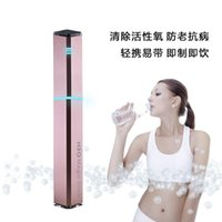 Wholesale DHL Latest Patented Products IPM Hydrogen ion H3O MAGIC STICK IN NOBLE GOLDEN LIMITED EDITION water hydrogen rich Beauty Health water drink