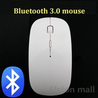 Wholesale New Hot DPI bluetooth mouse for tablet PC for Intelligent mobile phone for android for windows bluetooth wireless mouse