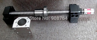 Wholesale High Quality ball screw L300mm C7 BK BF12 mm couplers nut screw block pc lock screw pc for stepper motor MA1411121