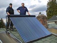 200Liters solar tubo colector tubo de calor del calentador de agua caliente solar, la energía de 2016 JJL nuevos productos solares