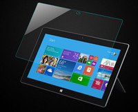 Wholesale mm surface pro HD Clear Tempered Glass Screen Protector Cover LCD screen protector for surface pro