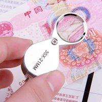 Wholesale 30x21mm Triplet Jewelers Jewelry Diamond Eye Loupe Magnifier Magnifying Glass