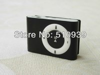 Wholesale Promotion mini clip mp3 player with TF card slot MP3 USB Earphone Box options to choice hot selling