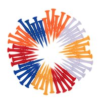 Wholesale Mixed Color Golf Tees Set mm Plastic Golf Tees Sections Step Down Golf Club Tees