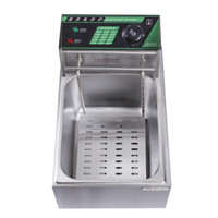 Wholesale Genuine Supply of commercial deep fryer fries machine Kentucky Fried dedicated fryer single cylinder screen Electric Fryer