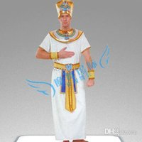 ancient egyptian clothing - Christmas halloween clothes masquerade party cosplay costume men clothing The ancient Egyptian king Pharaoh
