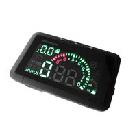 Wholesale 2015 Car HUD Head Up Display Vehicle mounted Security System With OBD2 OBD Interface Overspeed Warning Fuel Consumption W01