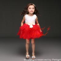 Revisiones Fashion skirts-La falda más nueva de BodiceTulle de la flor de los vestidos de partido de las muchachas de Pettigirl para la princesa infantil Dressing del partido de los vestidos de la manera del verano de la manera usa GD31025-1