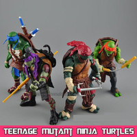 Wholesale 2015 New NECA Toy Teenage Mutant Ninja Turtles hasbroeINGlys Action Figure TMNT Model Toys For Boys Juguetes Gift Brinquedos
