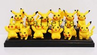 Wholesale New Set Styles Anime Pocket Monsters Design Figure Toys PVC Doll Collective Toys Gift For Children