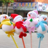 Wholesale M62 factory snowman stick carnival celebration party atmosphere dedicated kawaii decorations props