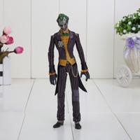 batman classic toys - 17cm Batman The Joker Movable joints PVC Action Figure Collectible Model Toy Classic Toy