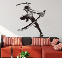 animation abstract - New arrival One piece Animation d acrylic crystal three dimensional wall stickers Child Living room wall Ninja wall stickers