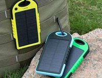 Wholesale Hot Solar Charger and Battery Solar Panel portable mAh travel charger