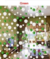Wholesale strip glass crystal beads curtain window door curtain passage wedding backdrop