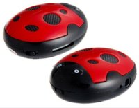 Wholesale Ladybug Design MP3 Player with TF Card Reader Red mp3 player to amplifier mp3 players gb