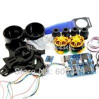 Wholesale 2 axis Brushless Camera Gimbal GoPro3 Controller PTZ Black aluminum Full parts BGC order lt no track