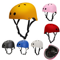 adult skateboard helmet - Protect Helmet Kids Adult BMX Bicycle Bike Cycling Scooter Helmet rock climbing Ski Skate Skateboard Helmet Hip hop Helmet CYC_806