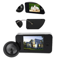 Wholesale Door Viewer Detection Video Phone Home Security Monitoring Inches TFT Digital Camera Photo Memory Peephole Doorbell Motion