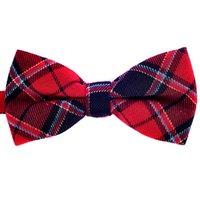 cdm - CDM On Sale men s fashion plaid bow tie polyester and cotton woven tie bowtie