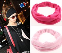 Wholesale Headband Cotton Elastic Sports Wide Hair Accessories Good Spandex New Variety of Wear Headbands for Women