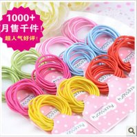 Wholesale Simple candy baby children s hair rope hair head dress of direct selling