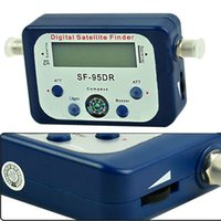 Wholesale by DHL or EMS pieces igital Satellite Signal Finder Meter Satellite Signal Finder