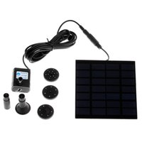 Wholesale Energy Saving Solar Powered Pump Mini Pump Solar Power Garden Plants Watering Kit Practical Fountain Pool Water Pump