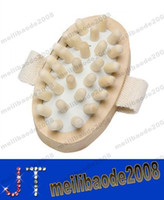hand held massager - Hand Held Natural Wood Wooden Massager Body Brush Cellulite Reduction MYY13948