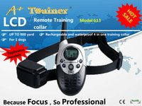 1000m dog shock collar - A Trainer meters extreme distance control electric shock Rechargeable and Waterproof Remote Pet Training Collar bark collar
