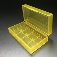 Wholesale New Battery Storage Container Box Plastic Battery Case Battery Holder For E Cig Battery Holder in Stock