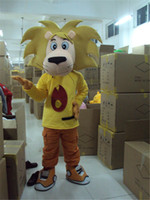 best clown costumes - Yellow Lion King Mascot Costume Halloween Lovely Lion The Best Mascot Costume Suit Halloween Christmas Birthday Dress Adult Size