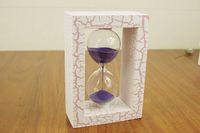 Wholesale Plain Wood Frame Hourglass Home Decoration Children Gift