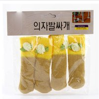 Wholesale Fashion Household Furniture Knitted Wool Gloves Table Mats Chair Covers Four Loaded