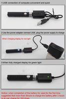 Cheap BLACK electronical Zigarette evod e liquid for Elektronische Zigarette cigarrillos electronicos smoking (evod 1 tank)