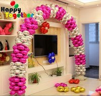 arch smile - SMILE MARKET Hot Sale Pieces Wedding Party Decorations inch Clover Inflatable Foil Arch Balloons