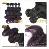 purple black hair color - body Weave hair extension purple black ombre color Hair body Weave hair extension