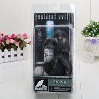 Boîte d'archives France-18cm 7 '' 5pcs / lot NECA Hunk 10e anniversaire Resident Evil ARCHIVES SÉRIE 2 Action Figure Nouveau dans BOX
