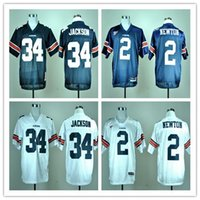 auburn tigers logo - Factory Outlet Auburn Tigers Bo Jackson Cam Newton College Football Jersey Embroidery Logo