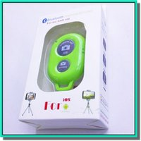 Wholesale Brand new colorful cheap and power saving remote shutter suite for iphone s G plus and samsung cell phone