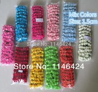 Wholesale CM pieces mixed colours Paper Flowers Wedding Party Candy Gift Box Decorations Scrapbooking Mulberry