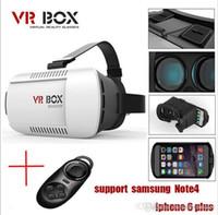 Wholesale Head Mount Plastic VR BOX Version VR Virtual Reality Glasses Rift Google Cardboard D Movie for quot quot Smart Phone