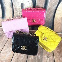 Wholesale Children s fashion princess bag Quilted chain bag shoulder bag