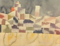 architecture for sale - Architecture in the Orient Paul Klee Painting for sale canvas art High quality Hand painted