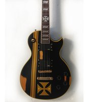 Wholesale 2015 best selling new Firehawk golden cross prints can be customized to do the old electric guitar