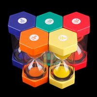 Wholesale 2 Minutes Mini Hourglass Sandglass Sand Clock Timer Cooking Color Toys
