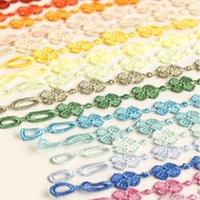 Forma Flor Marte Lace Cruciani Clover pulseiras coloridas Friendship Bracelet Jóias doce Mulheres Homens Hot italiana