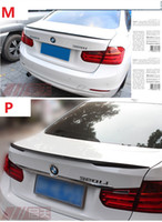 Wholesale stock Fit for BMW series series f30 li328lif10 li M3 M5 carbon fiber rear spoiler